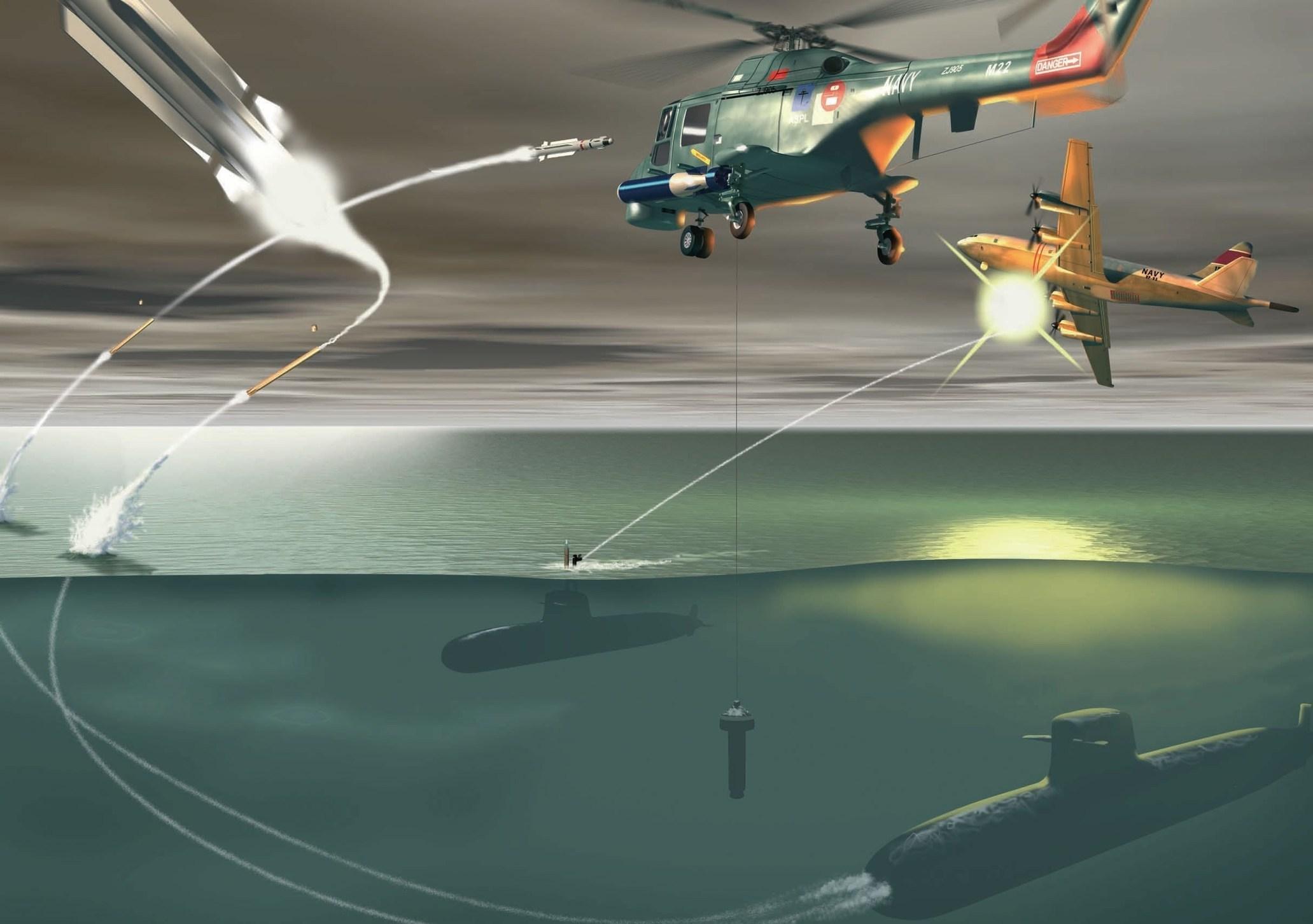 Vídeo: Capacidade de autodefesa antiaérea para submarino