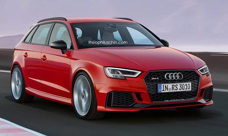 Audi RS3 SportBack 2017: l'espoir fait vivre | MonAutoNews | Scoop.it