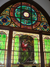Ahavas Sholom: Expert Provides Analysis of Temple's Stained Glass | Stained Glass | Scoop.it