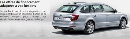 Crédit Skoda LOA prêt voiture Skoda Bank | Mon Compte | Scoop.it