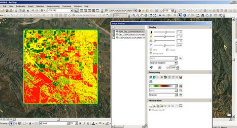 Aprenda a processar imagens do Landsat 8 no ArcMap 10.1 para monitoramento agrícola | Geoflorestas | Scoop.it