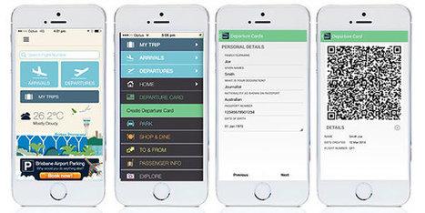 Brisbane Airport trials app-based Digital Departure Card | RFID & NFC FOR AIRLINES (AIR FRANCE-KLM) | Scoop.it