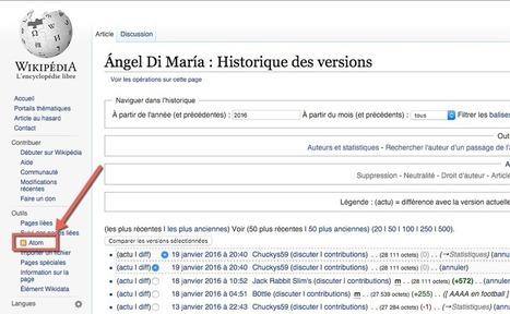 Comment surveiller en temps réel les modifications d'une page Wikipédia ? | RSS Circus : veille stratégique, intelligence économique, curation, publication, Web 2.0 | Scoop.it