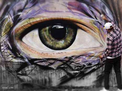 """The Eye"" par L7M, Sao Paulo 