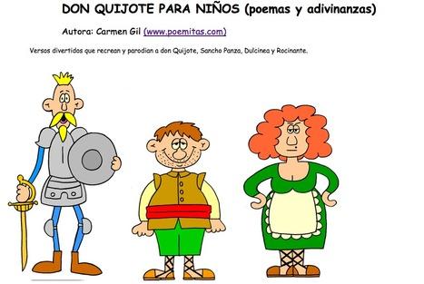 Don Quijote para niños (poemas y adivinanzas) | Español para los más pequeños | Scoop.it