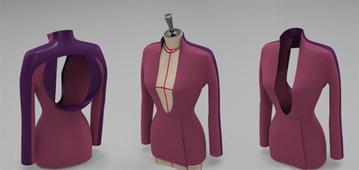 Ett av de första plaggen som ritats i 3D [8167] | CAD / CAM | FashionLab | Scoop.it