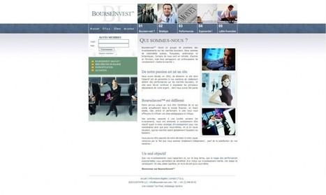 BourseInvest - Too Pixel | Agence web et Webmarketing | Scoop.it