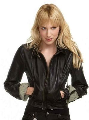 Beth Riesgraf Leather Jacket | Leverage Parker Hoodie | Women's Jackets | Scoop.it