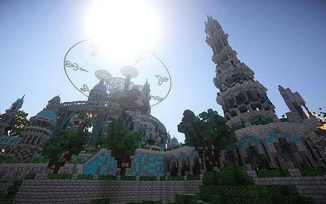 The Halo of Transcendence Map   Minecraft 1.7.4/1.7.2   Map for Minecraft   Scoop.it