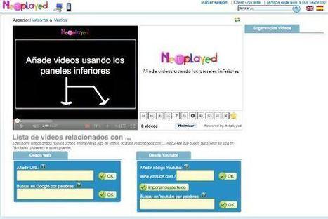 Netplayed, otra manera de gestionar los vídeos de Youtube | Educación, Tecnologías y más... | Scoop.it