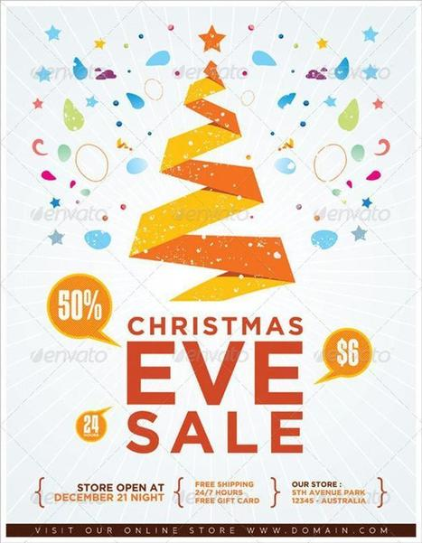 15+ Beautiful Christmas Posters and Flyer Design Templates | Inspirationi | Scoop.it