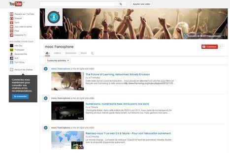 11 nouvelles vidéos sur la chaîne Youtube MOOC Francophone.   conférence pédagogique   Scoop.it