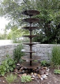 Farm Till Water Feature | Up Cycled Garden | Scoop.it