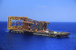 Ichthys LNG installs RSS tower | LNG news | Scoop.it