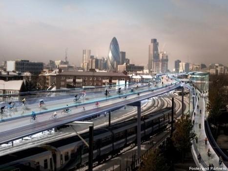 Des pistes cyclables aériennes en plein Londres | voie verte | Scoop.it