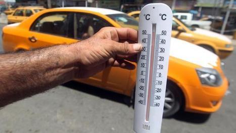 L'Iran frôle le record mondial de chaleur avec 74°C de température ressentie | SandyPims | Scoop.it