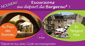 Nouveau ! Des excursions au départ de Bergerac | Initiatives touristiques | Scoop.it