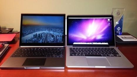 MacBook Pro (Retina Display) vs. Chromebook Pixel on video | Anything Mobile | Scoop.it