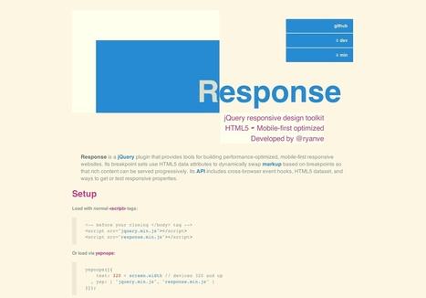 Really easy responsive design   web design - AD   Scoop.it