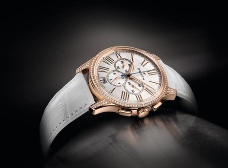 Zenith Captain Women Chronograph Watch   Watch Magazine   Scoop.it