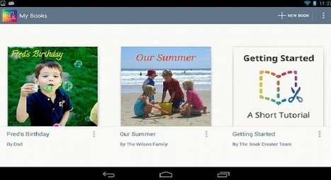 (e)Book Creator App Launches for Android Tablets | education | Scoop.it