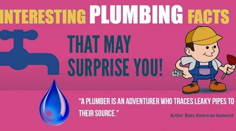Some Surprising Facts about Plumbing | PCFSCT - Know more than Local plumbers! | DIY Plumbing Tips & Plumbing Infographics | Scoop.it