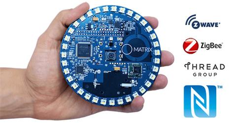 MATRIX Creator ajoute les technologies IR, NFC, Z-Wave, ZigBee et Thread à votre Raspberry Pi ! | FabLab - DIY - 3D printing- Maker | Scoop.it