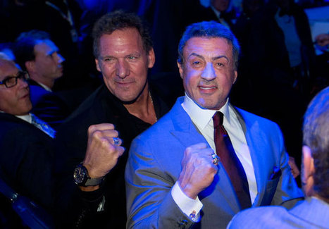 Sylvester Stallone and Wladimir Klitschko - SI.com Photos | Sports Photography | Scoop.it