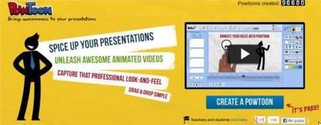 PowToon | Crea vídeo-infografías profesionales de forma sencilla | Representando el conocimiento | Scoop.it