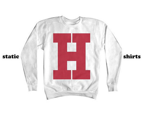 H Sweatshirt | Hogwarts Sweatshirt | Harvard Sweatshirt | Fashion Shirt | Scoop.it