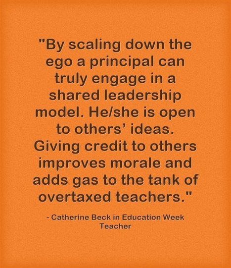 Response: Principals 'Must be Reflective Daily About the Work' | School Leadership for 21st Century | Scoop.it