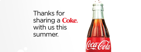 Share a Coke: Swapping Our Name With Yours | Digital Landscape | Scoop.it