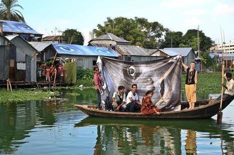 Art Installation in a Bengali Slum | Bits and Bobs | Scoop.it