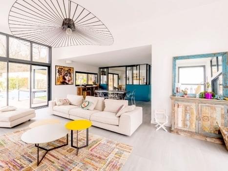 Une maison bordelaise ose le mélange des styles | Dans l'actu | Doc' ESTP | Scoop.it