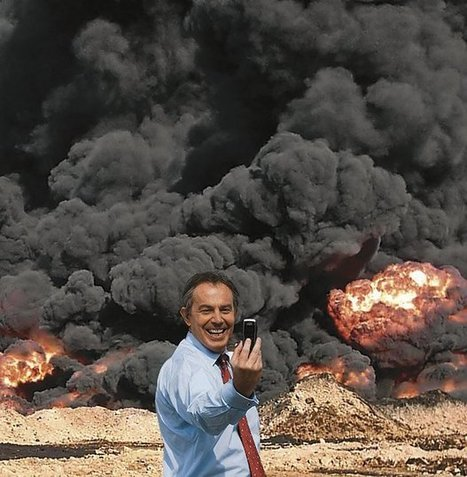 The Tony Blair 'selfie' Photo Op will have a place in history | History | Scoop.it