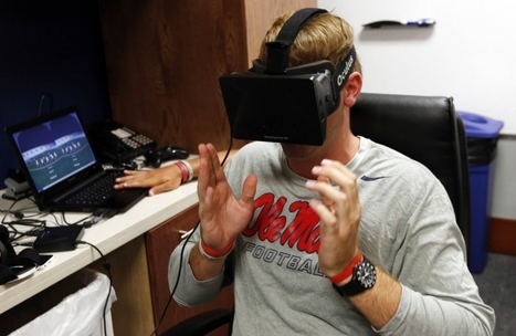 College football teams are using virtual reality to prepare for the upcoming season   Using Technology to Transform Learning   Scoop.it