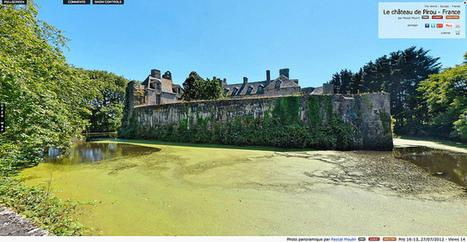 Visite virtuelle - Le château de Pirou - France par Pascal Moulin | moulin360panoramic | Scoop.it