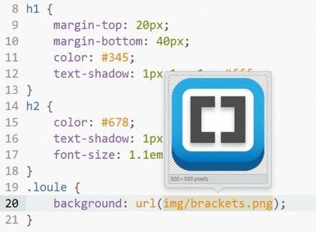 Brackets, l'éditeur spécialisé front-end - Alsacreations | Web mobile - UI Design - Html5-CSS3 | Scoop.it