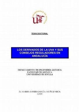 Los derivados de la Uva y sus consejos reguladores en Andalucía. - Fondos Digitalizados de la Universidad de Sevilla | Uva (Vitis vinifera) | Scoop.it