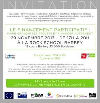 La Journée du Financement Participatif de Bordeaux | Financement participatif | Scoop.it