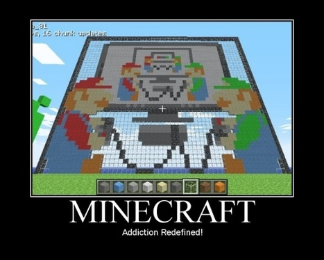 Minecraft - Nintendo-Océan V3 | Demotivational posters | Scoop.it