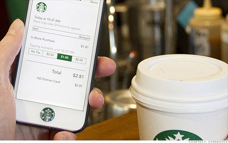 Starbucks' app to allow barista tips | wearable and moving marketing | Scoop.it
