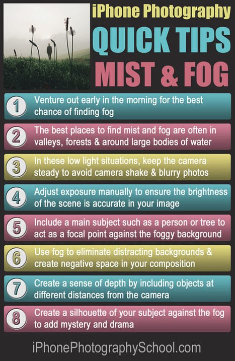 8 Quick Tips For Taking Better iPhone Photos In Mist & Fog | iPhoneography attempts and journalism | Scoop.it