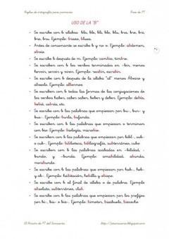 Cuadernillo de reglas de ortografía para Primaria - Orientacion Andujar | Tecnología Aplicada a la Educación. Curiosidades. | Scoop.it