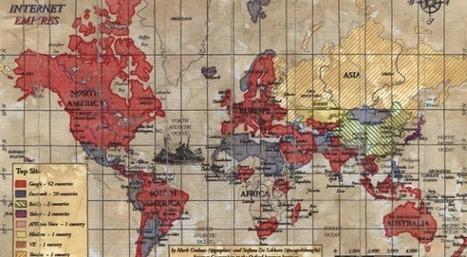 La carte des sites les plus populaires par pays !   RPCN   Scoop.it