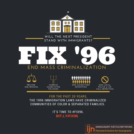 #Fix96: It's Time To Reverse The Illegal Immigration Reform And Immigrant Responsibility Act Of 1996. | Riverside Immigration Attorney | Scoop.it