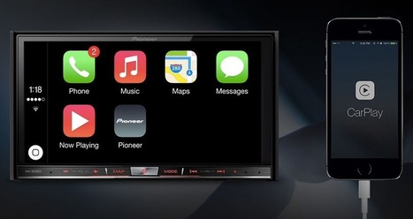 Apple CarPlay Coming to Pioneer In-Car Systems - | iPhone App Development  Company | Scoop.it