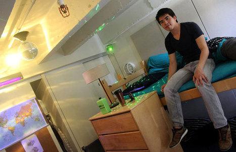 Un étudiant crée le système domotique qu'on rêverait tous d'avoir ! | conférence expos développement durable énergie | Scoop.it