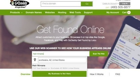GoDaddy's Get Found Updates Small Business Information Online | Entrepreneurship | Scoop.it
