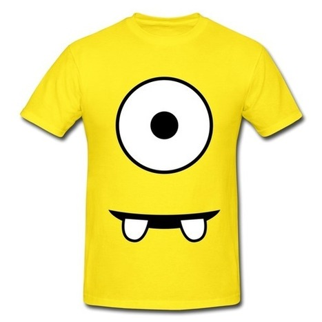 Minion Yellow Heavyweight T-shirt For Men on Sale-Baby & Family  T-shirts -HICustom.net | My Custom World,From Hicustom!!! | Scoop.it